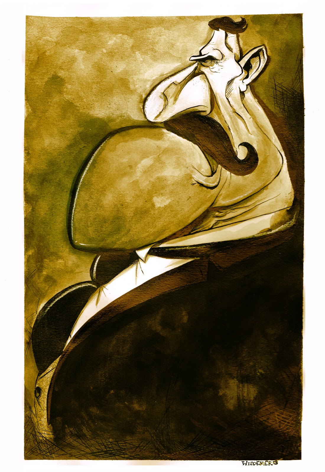 Chesterton Portrait